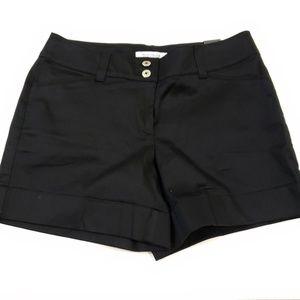 White House Black Market Casual Sateen Shorts